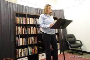 Natassja Linzau reading