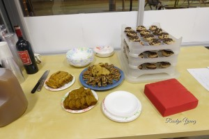 beautiful baked goodies to complement our reading